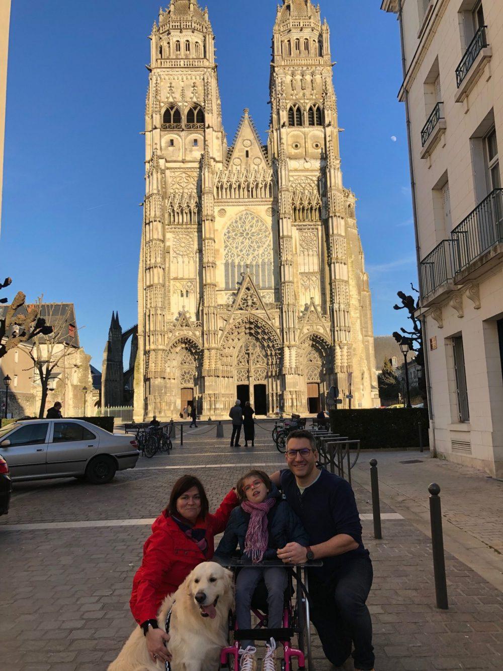 Cathédrale de Tours - février 2019
